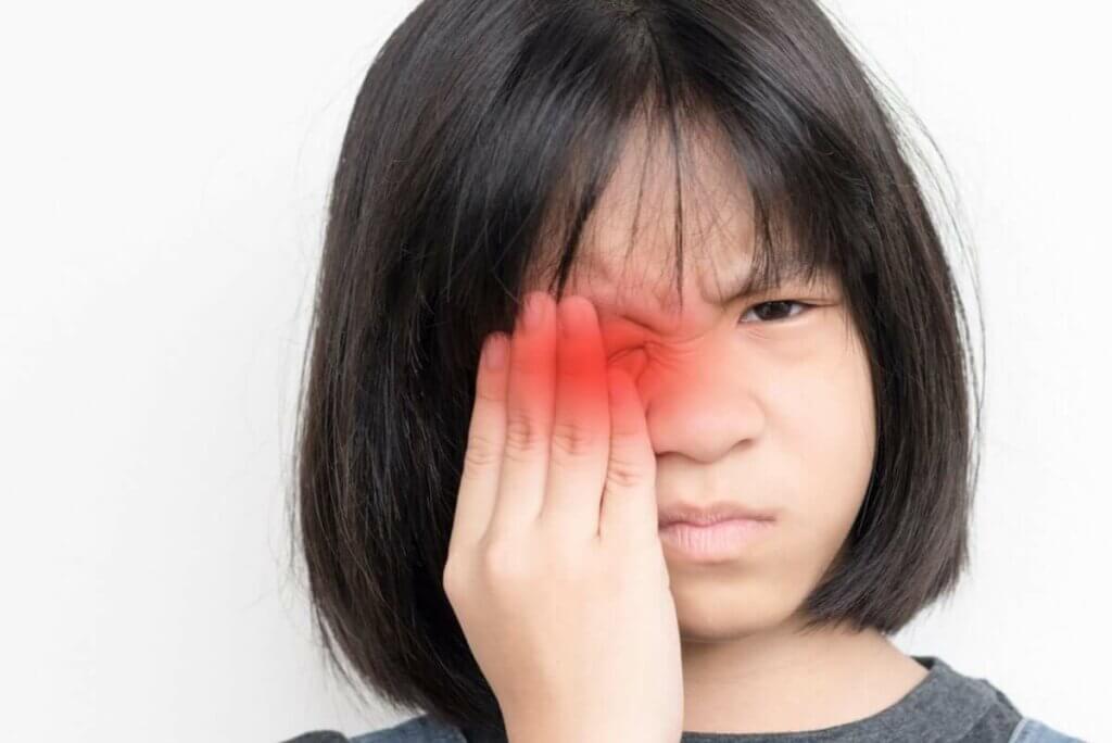 兒童眼部外傷