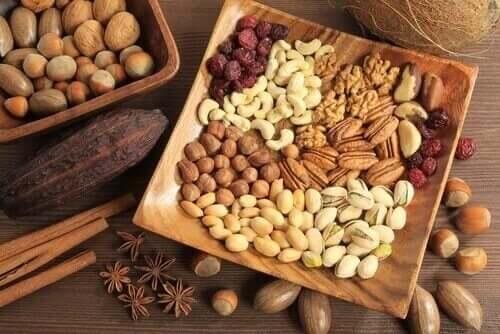堅果種籽和果乾