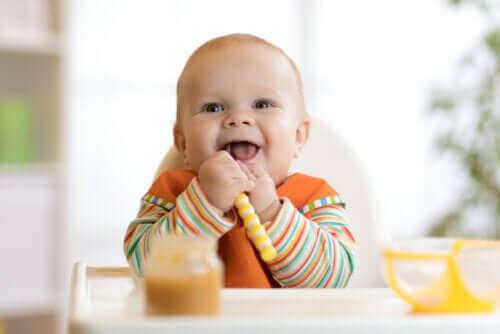 給嬰兒斷奶:如何開始引入食物