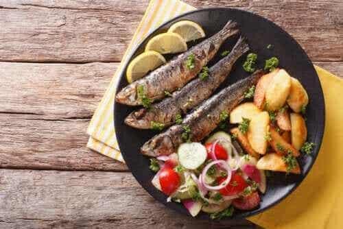 沙丁魚的三大好處